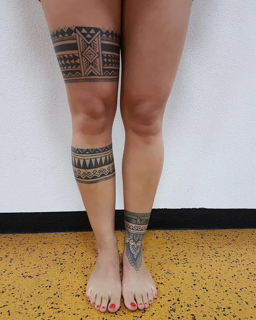 Sven Waeber Maoritattoos Polynesian Tattoos Women Leg Band Tattoos Anklet Tattoos