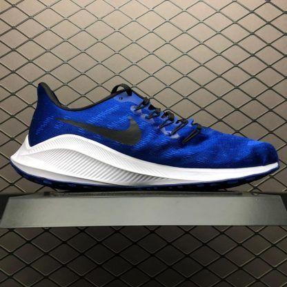 fcccb50065b Men s Nike Air Zoom Vomero 14 Blue White Black AH7857-400-3