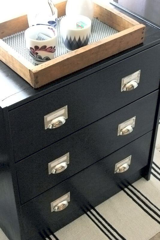 Une commode industrielle DIY à tout petit prix Ikea hack, Ikea