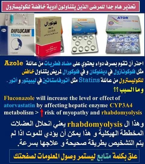 كوليسترول وفطريات Atorvastatin Medical Education Health Info