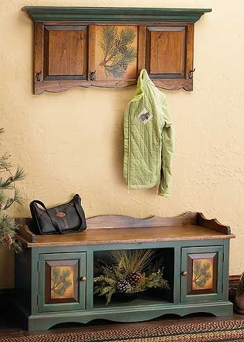 Genial Rustic Pinecone Accent Furniture | Wild Wings