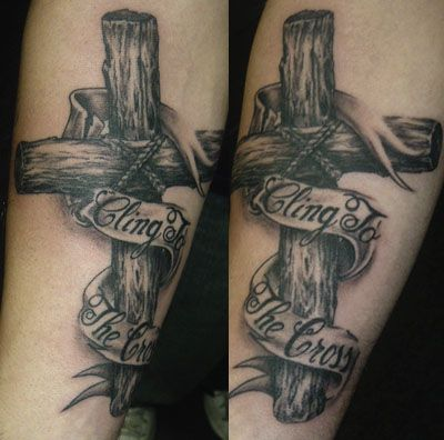 Best 25 Wooden Cross Tattoos Ideas On Pinterest Cross