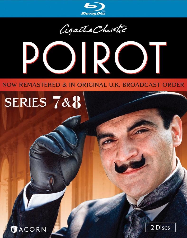 Best Buy Agatha Christie S Poirot Series 7 8 2 Discs Blu Ray Agatha Christie S Poirot Agatha Christie Poirot