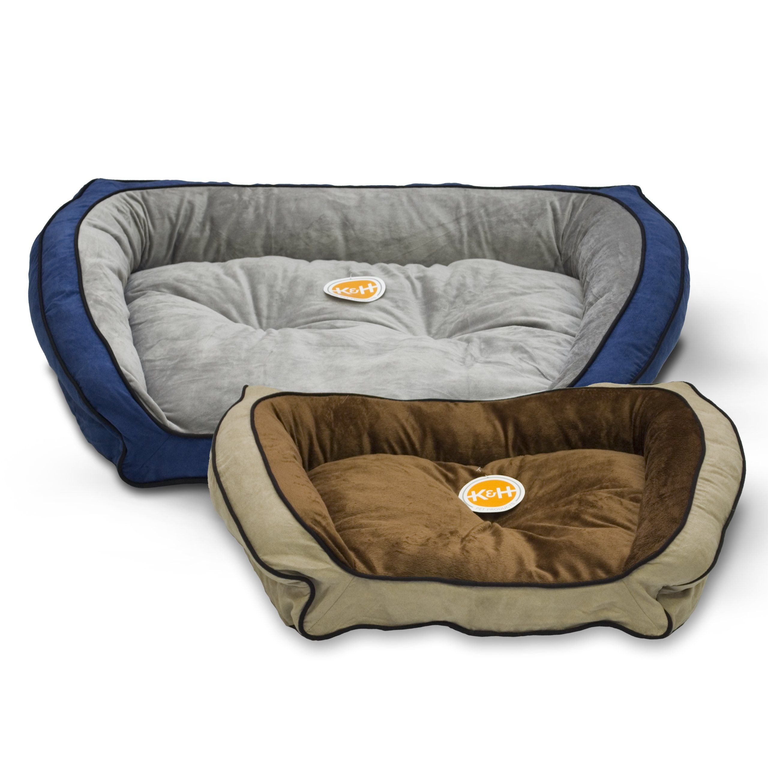 Kandh Pet Products Bolster Couch Pet Bed Large Mocha Tan 28 X 40 Click On The Image For Additional Details It Is An Couch Pet Bed Dog Bed Furniture Dog Bed