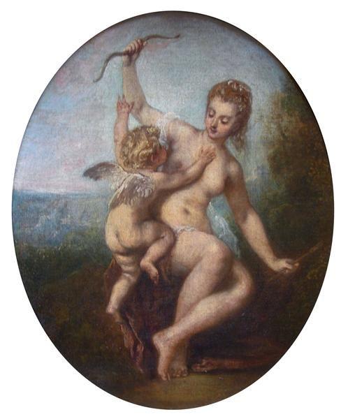 Cupido desarmado, 1715
