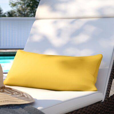 Sol 72 Outdoor Cortez Outdoor Lumbar Pillow Color Canvas Forest Green Size 22 W X 9 D X 6 H Lumbar Pillow Custom Outdoor Cushions Modern Throw Pillows