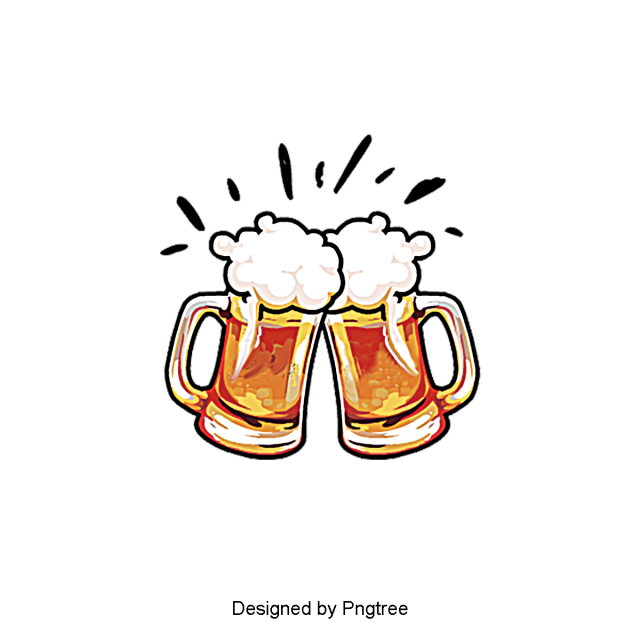 Aesthetic Cartoon Beer Summer Drink Beautiful Exquisite Cartoon Png Transparent Clipart Image And Psd File For Free Download Beer Tattoos Beer Drawing Beer Cartoon