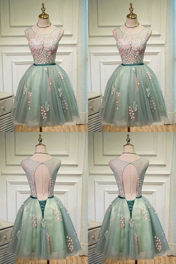 homecoming dresses,fashion homecoming dresses,short ,open back ,,tulle homecoming dresses,homecoming dresses for teens -   14 dress For Teens open backs ideas