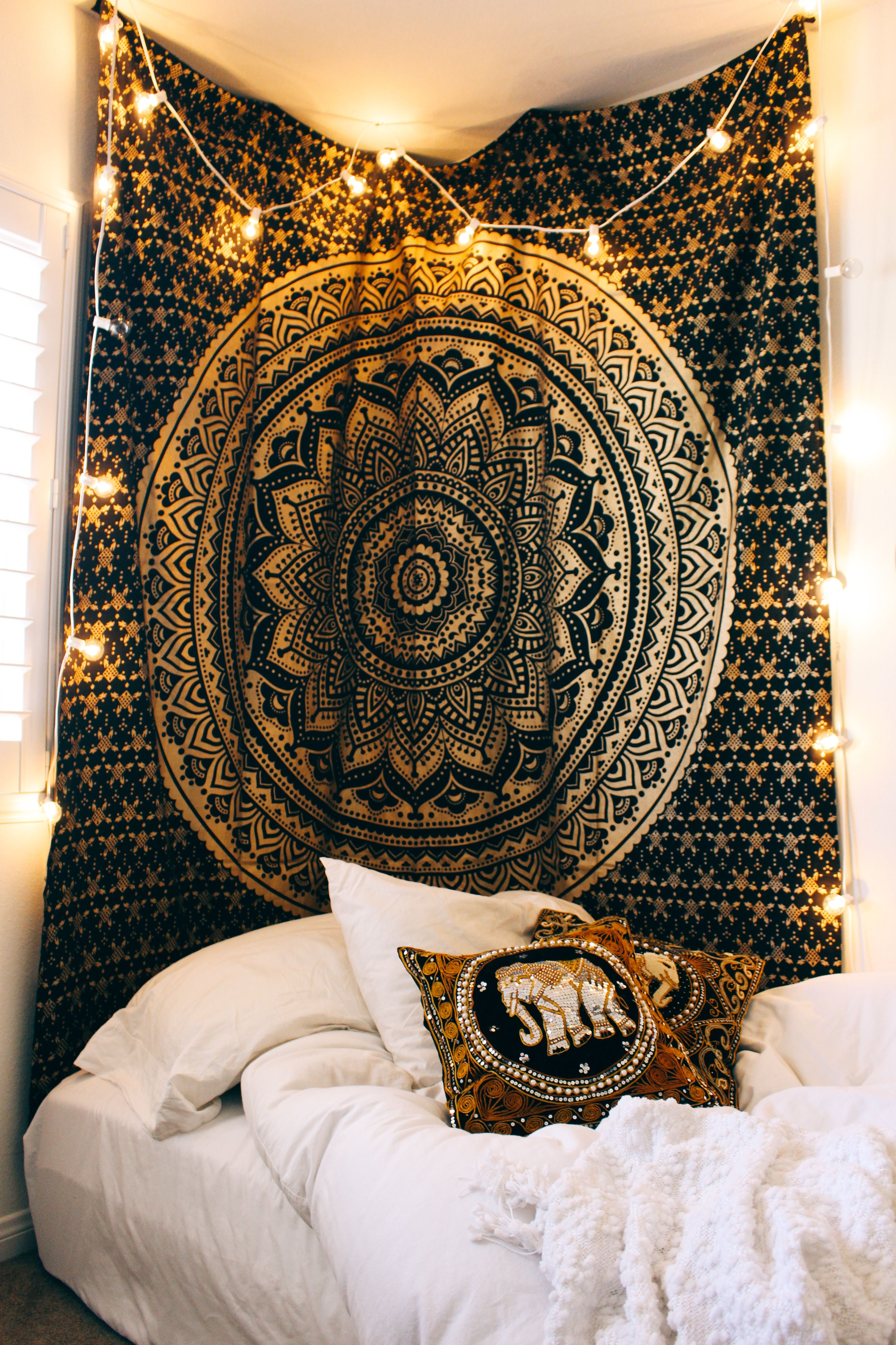 This NEW tapestry is dreamy Queen Mandala Tapestry Thank