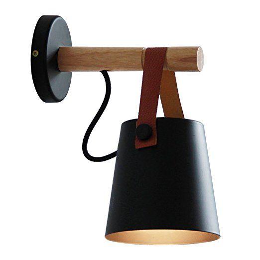 CGJDZMD Apliques Loft Vintage industria de hierro forjado lámpara de ...