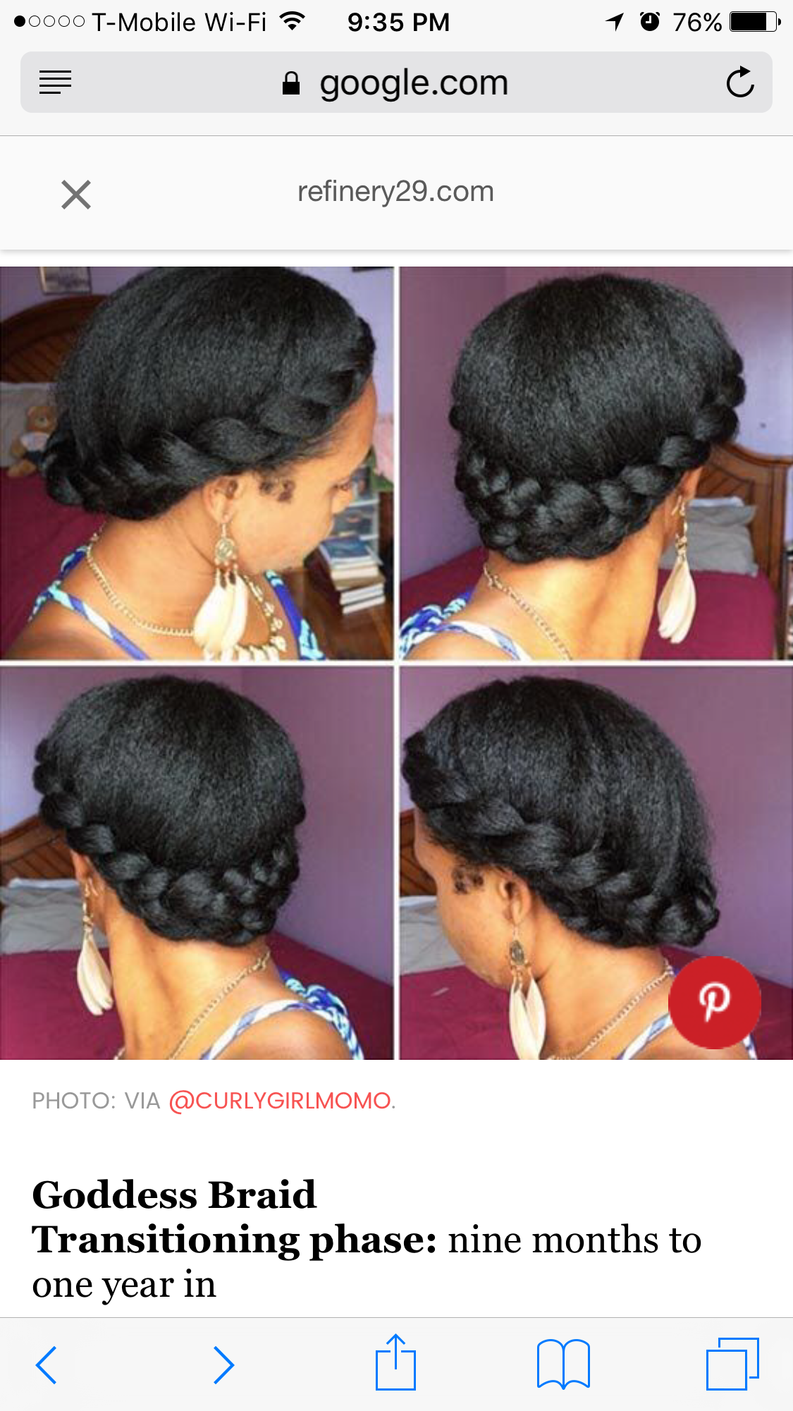 Pin by keeshaann murphy on natural hair styles pinterest hair style