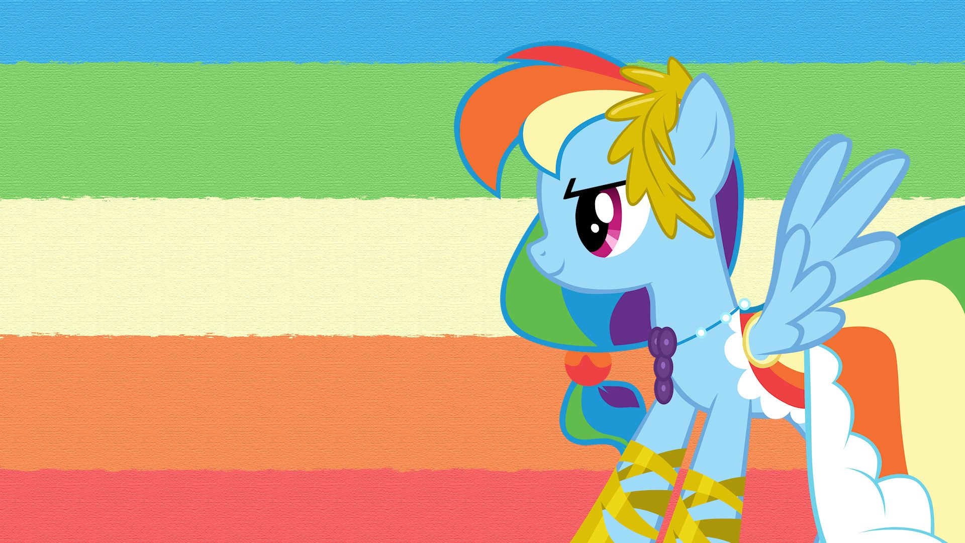 My Little Pony Friendship Is Magic Rainbow Dash Dress With