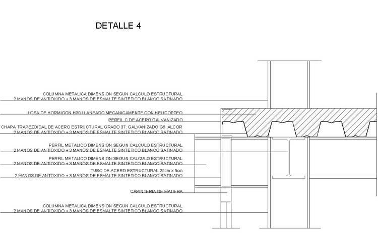 Concepci n arenal 3774 armado de estructura de cubierta - Cubierta sobre plots ...