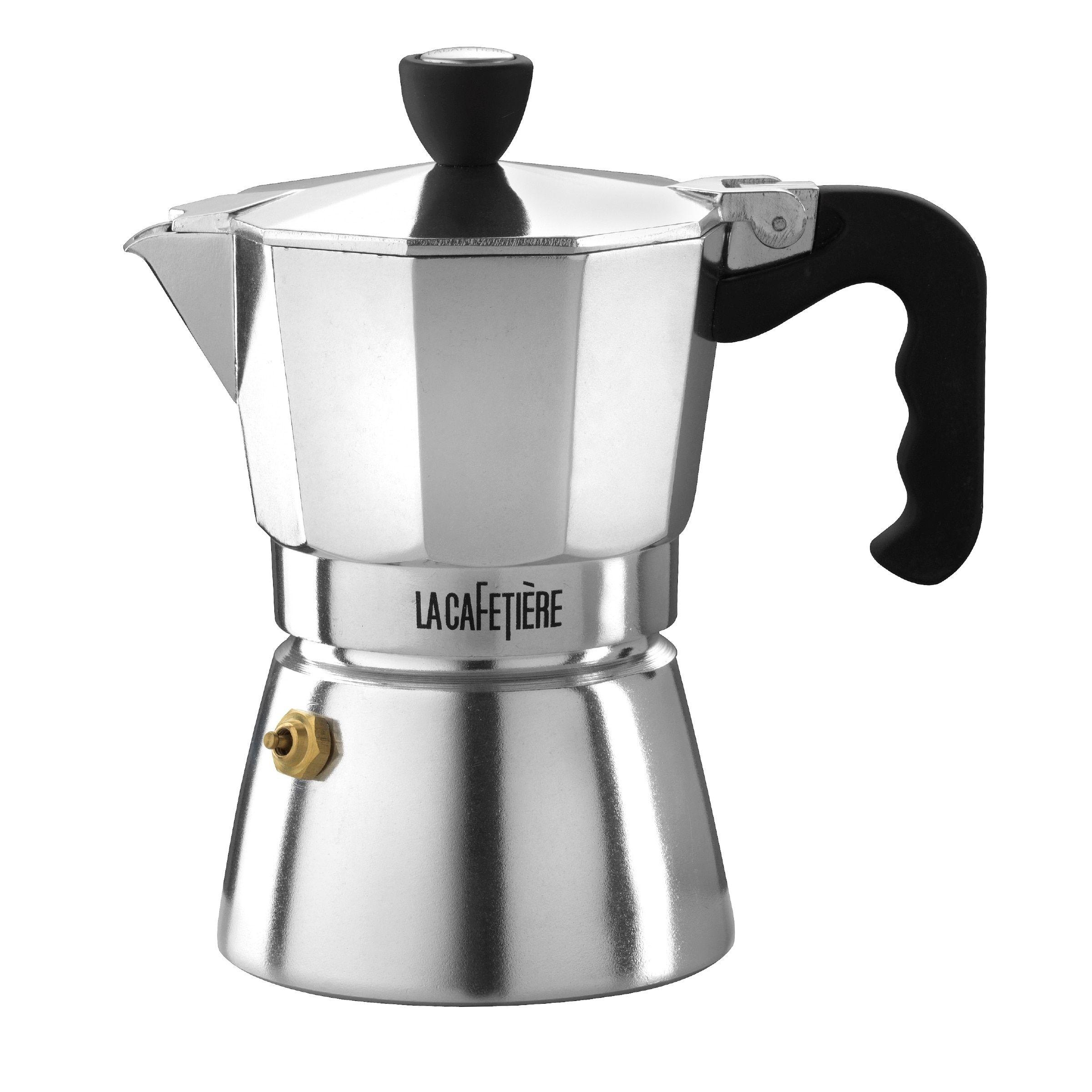 Lacafetiere Stovetop Espresso, Classic Polished, 3 Cup ** You Will