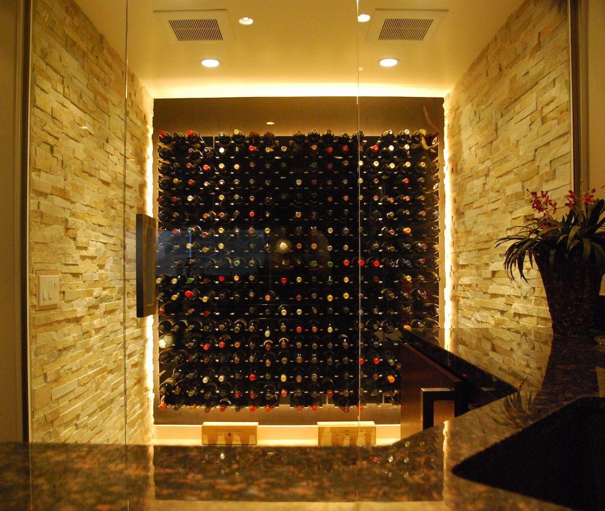 wine cellar with glass doors & wine cellar with glass doors | Basement finish | Pinterest | Wine ... pezcame.com