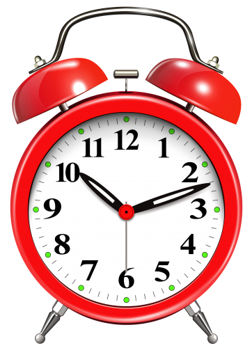 Alarm Clock Red Alice Clipart Sbook Art Images