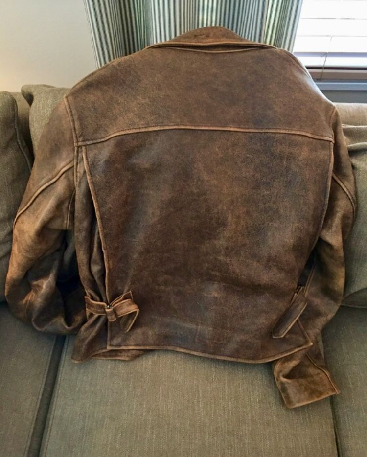 Indiana Jones Movie Men/'s Casual Designer Style Brown Hide Leather Jacket