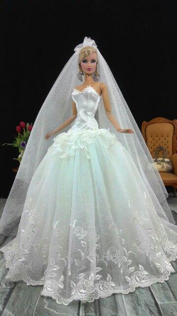 15+ Barbie wedding dress ideas