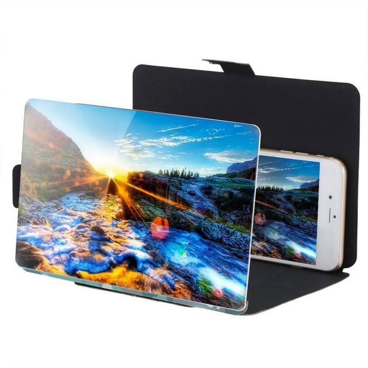 3d folding mobile hd screen magnifier screen magnifier