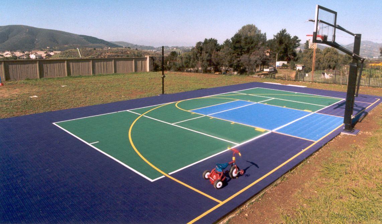 backyardcourt court basketball sportcourt colorado