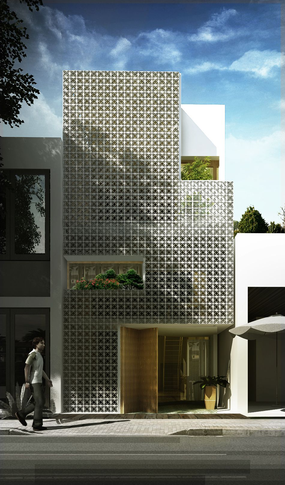 The house is brick wind also lofts pinterest architecture facade rh