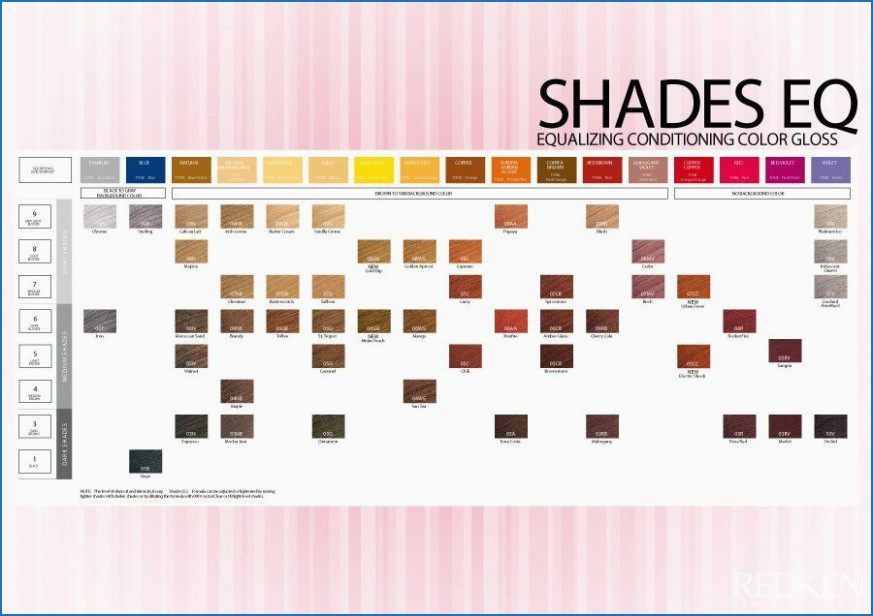 7nb Shades Eq Redken Shades Shades Eq Color Chart Redken Color