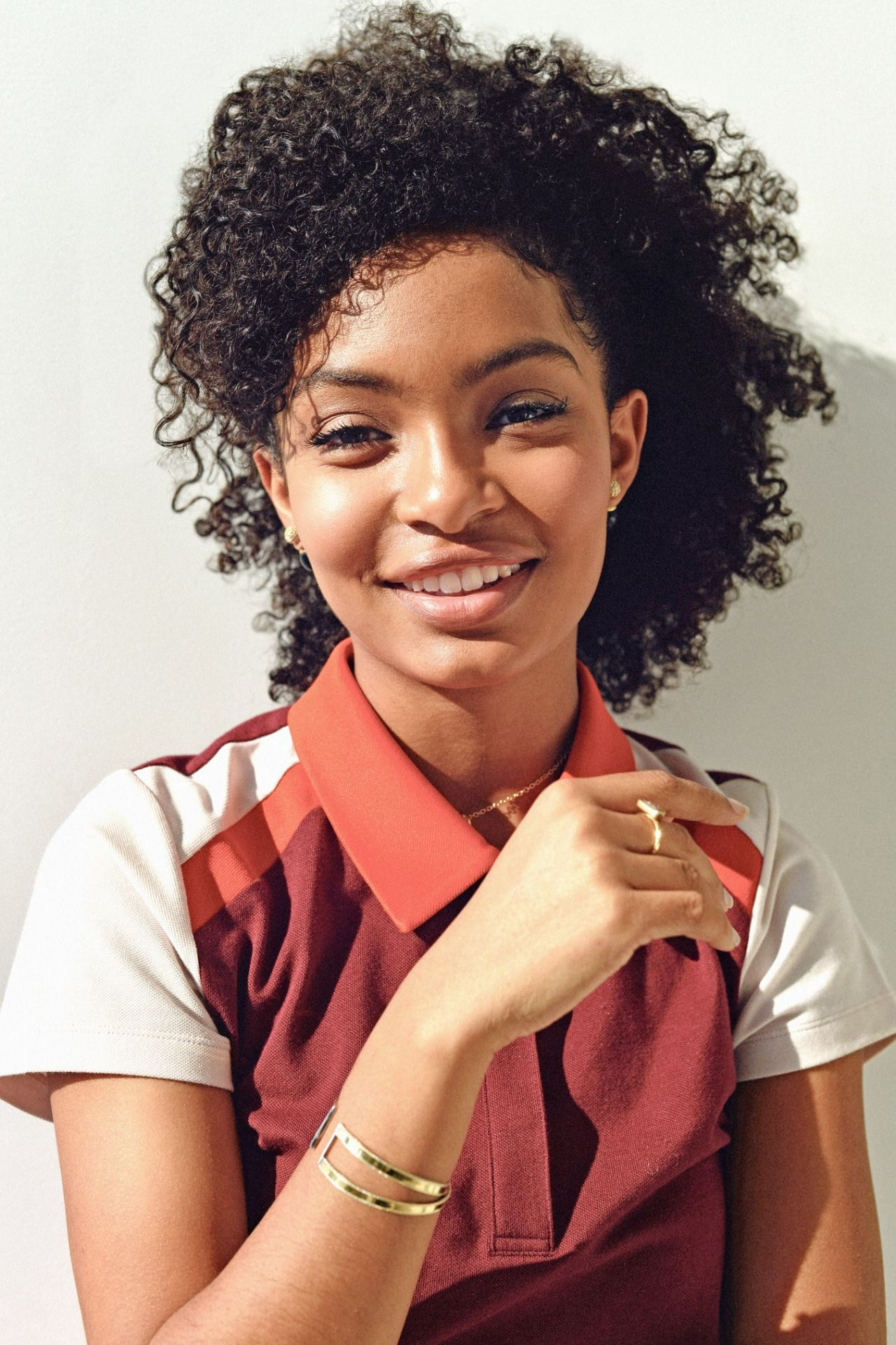 Yara Shahidi For W Magazine Natural Hair Styles Curly