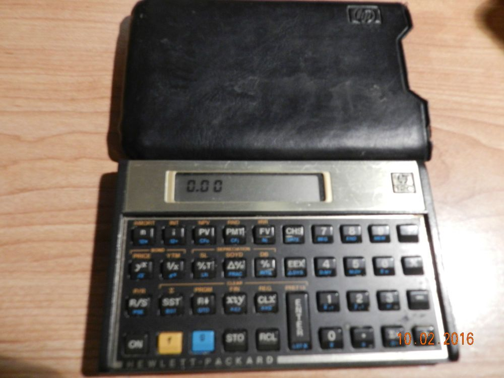 HP 12C Financial Calculator Calculator - financial calculator