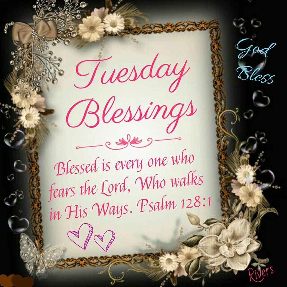 Tuesday Blessings Psalm 128 1 Psalm 128 Blessed Happy Tuesday Quotes