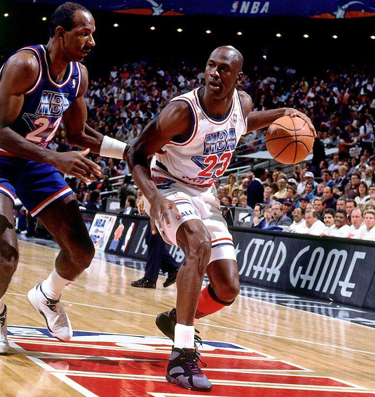 Photo Collection Of Michael Jordan Wearing Air Jordans On