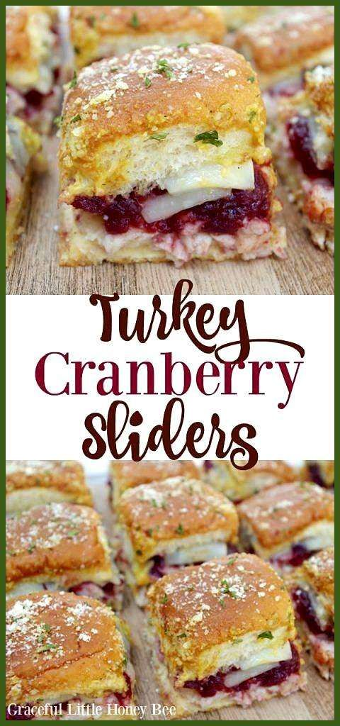 Turkey Cranberry Sliders If you're wondering how to make soft and chewy sugar co… appetierz col
