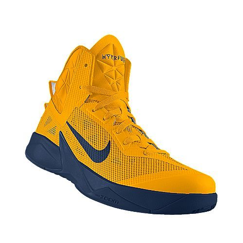 reputable site 4e7ca 836e1 I designed the gold West Virginia Mountaineers Nike men s basketball shoe.