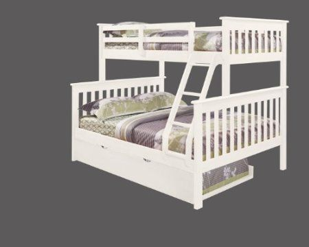 size 40 eafe9 bacc1 Amazon.com: Bunk Bed Twin over Full Mission Style with ...