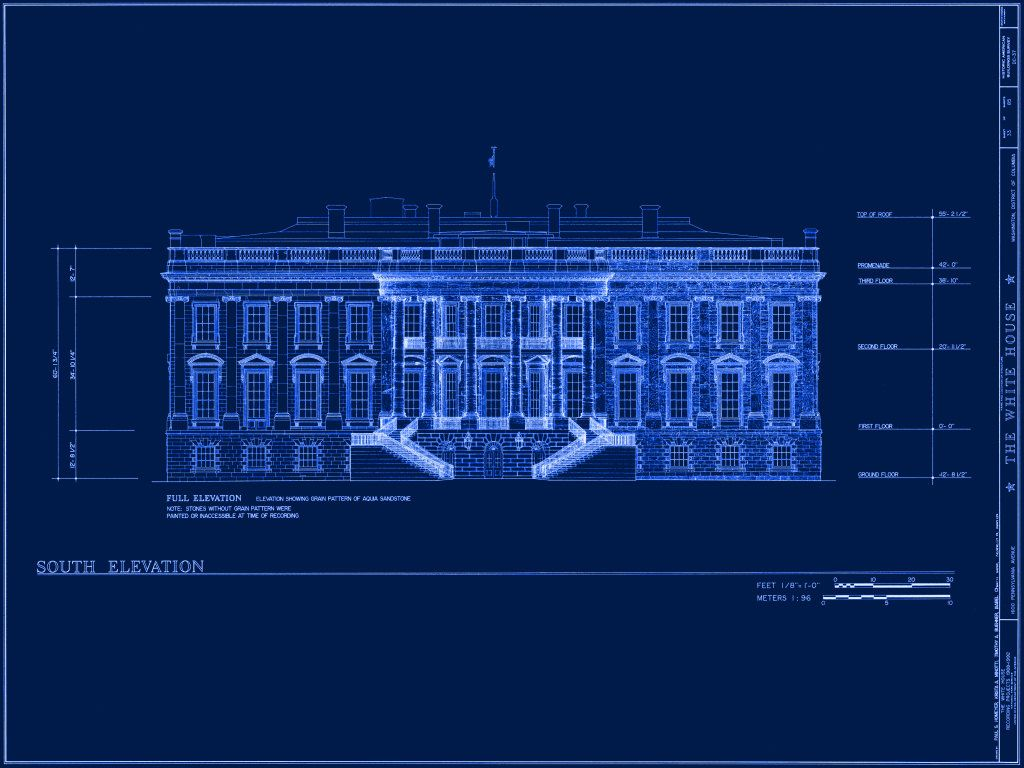 Just In Case I Ever Need The White House Blueprint