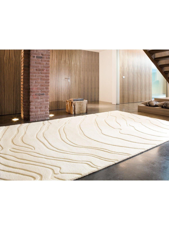 100 Fantastique Concepts Tapis Blanc De Salon