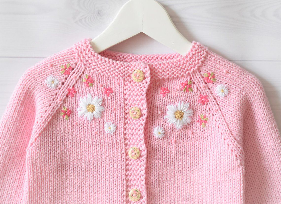Baby Pink Cotton Sweater Summer Cardigan Baby Girl Sweater Etsy Girls Sweaters Baby Girl Cardigans Cotton Sweater