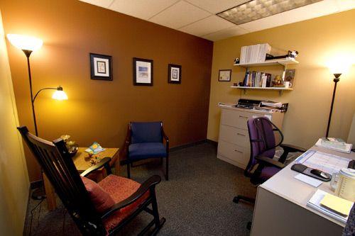 social worker office at hospital