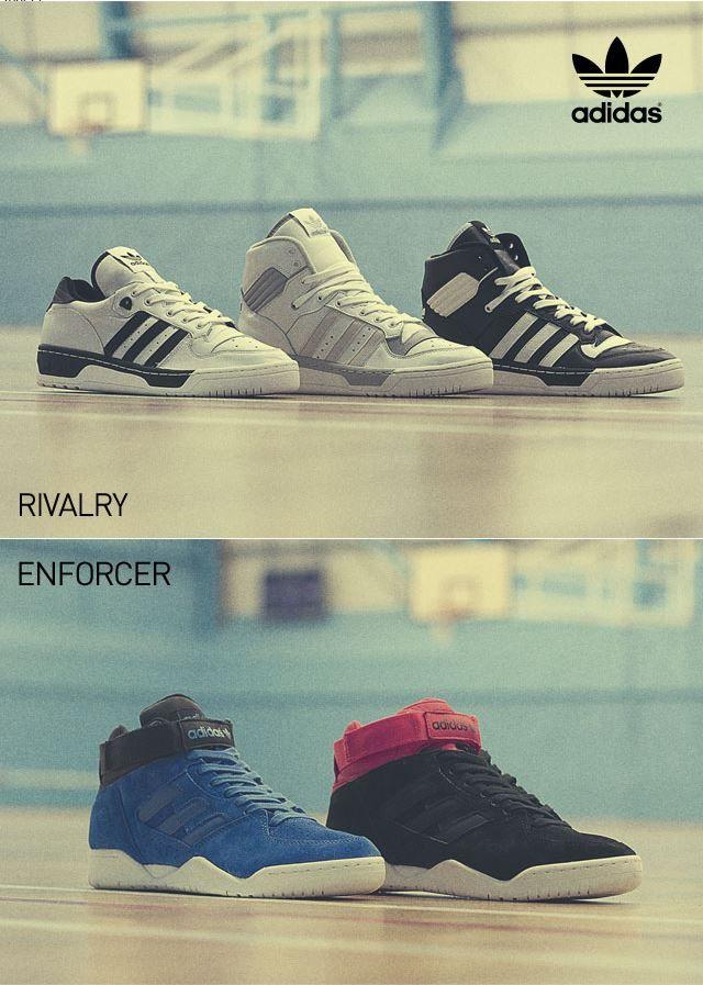 adidas Rivalry \u0026 Enforcer models | Moda