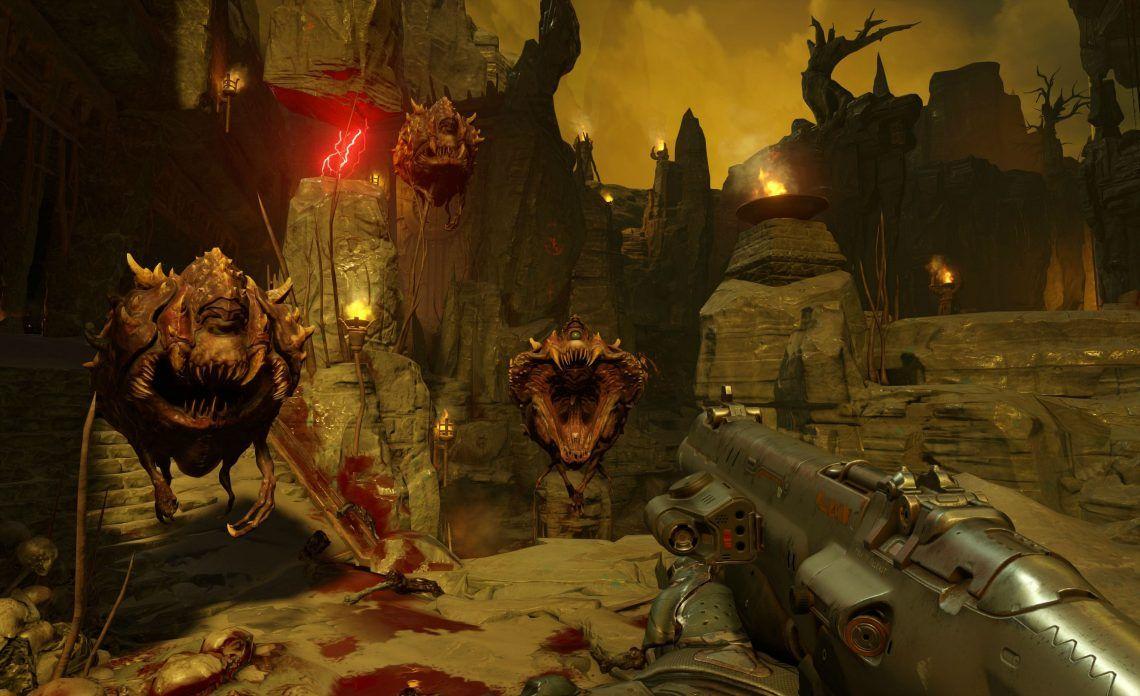 Doom 4k Screenshots Look Absolutely Breathtaking Doom 4 Doom