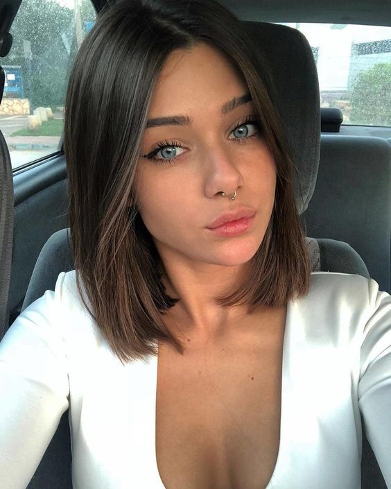 12 Amazing Blunt Bob Hairstyles You'd Love to Try This Year! #hair #haircut #hai…