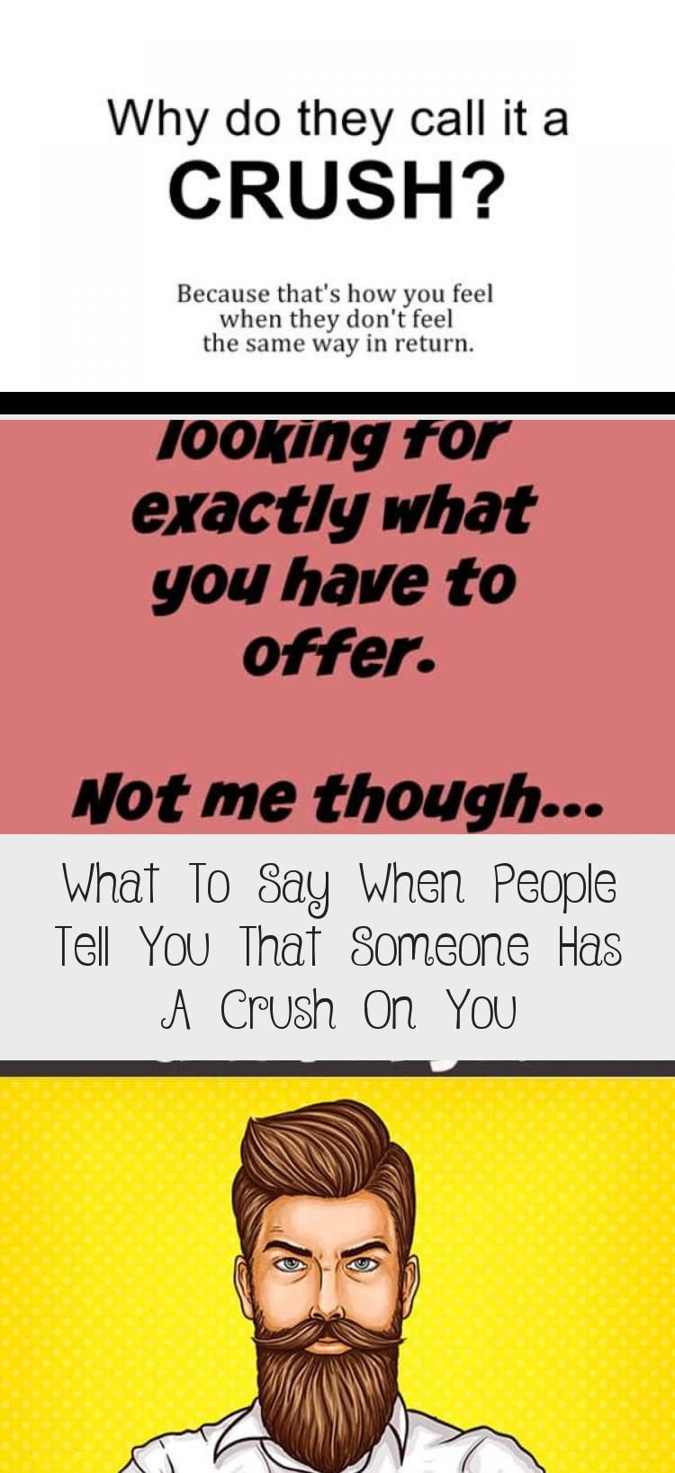 What To Say When People Tell You That Someone Has A Crush