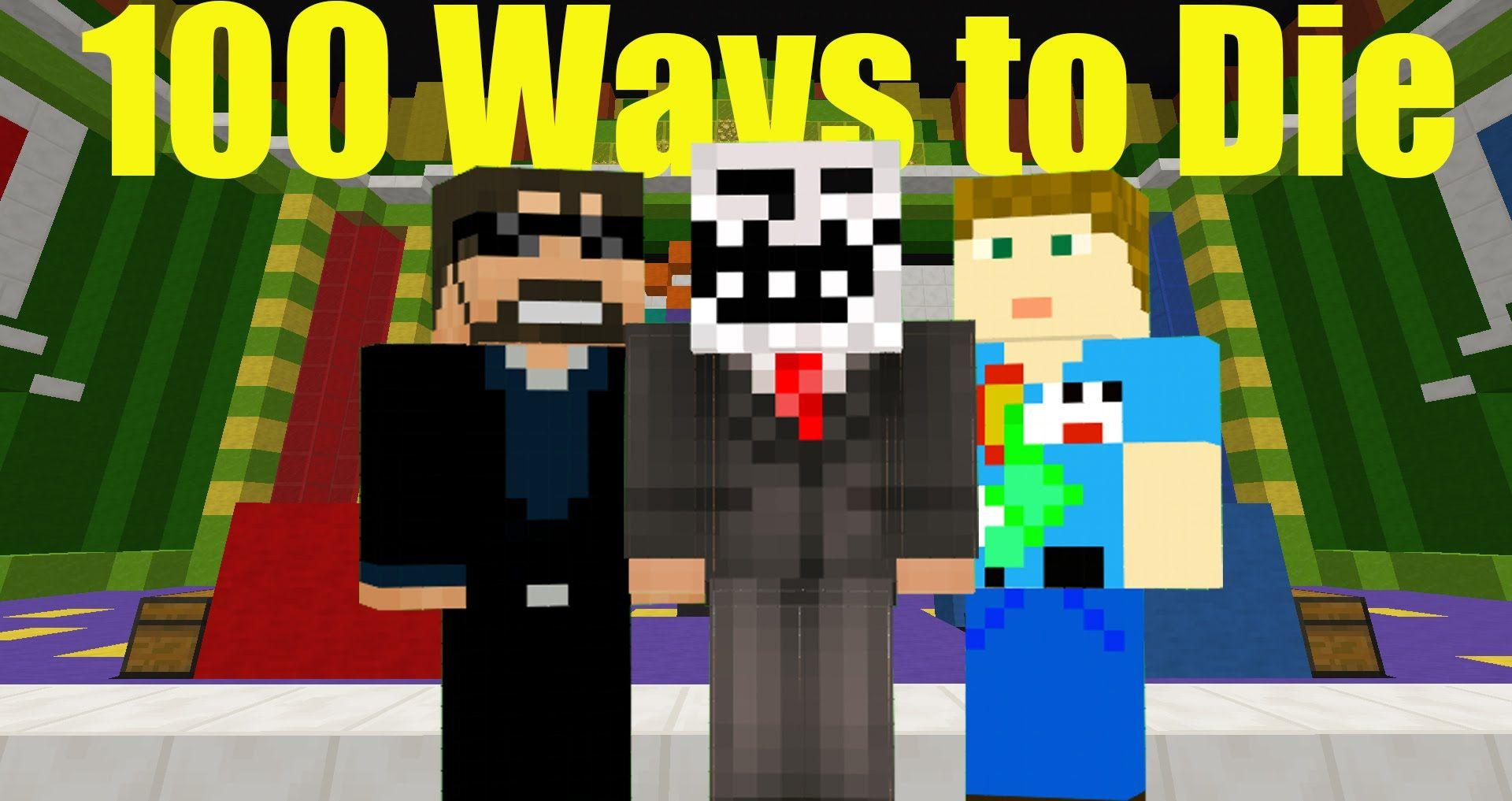 100 ways to die! Minecraft Trivia W/ SSundee and Crainer