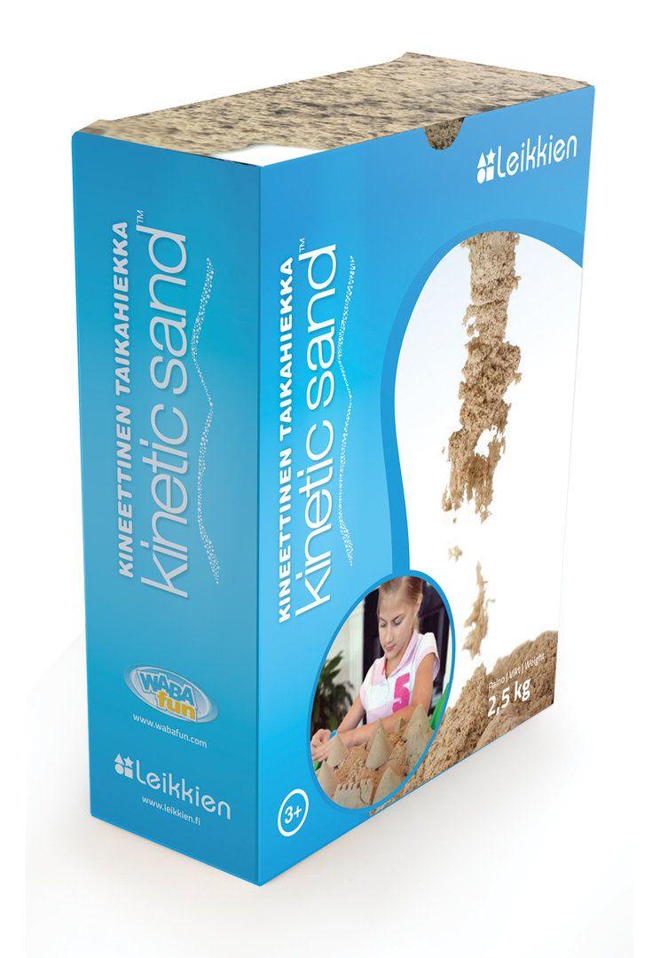 Leikkien Kineettinen taikahiekka - Kinetic sand, 2,5 kg