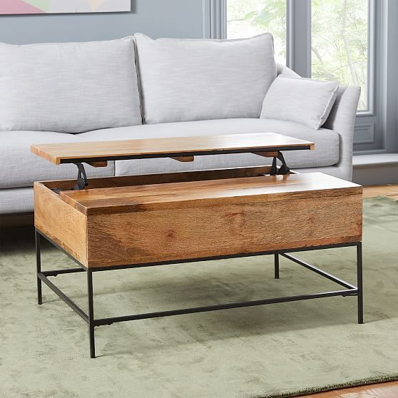 Storage Coffee Table Small 36 Cafe At West Elm Tables Accent Living Room