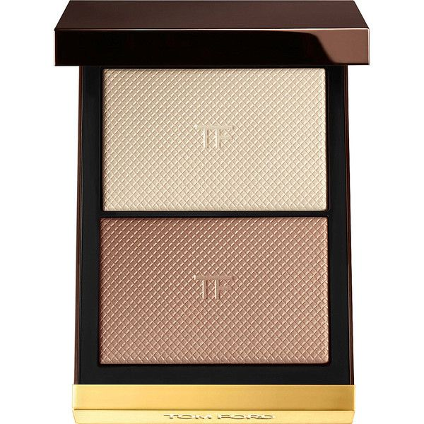 TOM FORD Skin Illuminating Powder Duo (1,415 MXN) ❤ liked on Polyvore featuring beauty products, makeup, face makeup, face powder, beauty, moonlight, tom ford and illuminating face powder