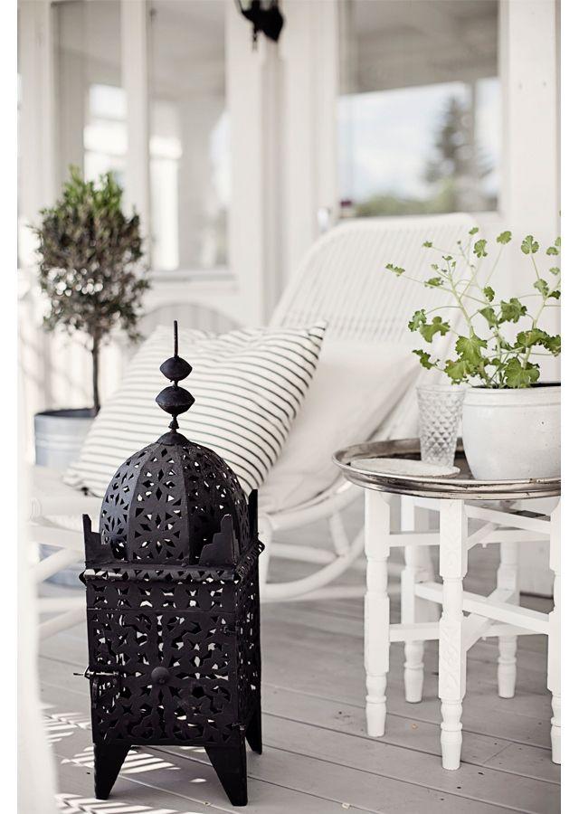 Exterior Nórdico árabe Balcones Y Terrazas Decoracion De