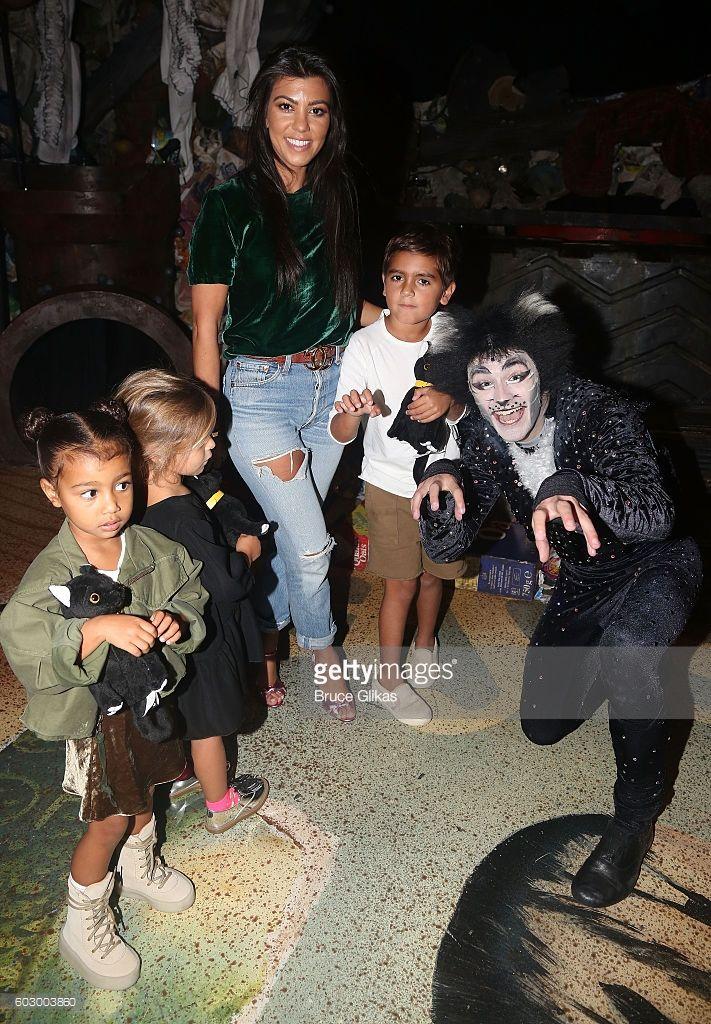 1ec283ccb North West, Penelope Disick, Kourtney Kardashian, Mason Disick and 'So You  Think You Dance' Season 11 Winner Ricky Ubeda as 'Mr.Mistoffelees' visit  'Cats' ...