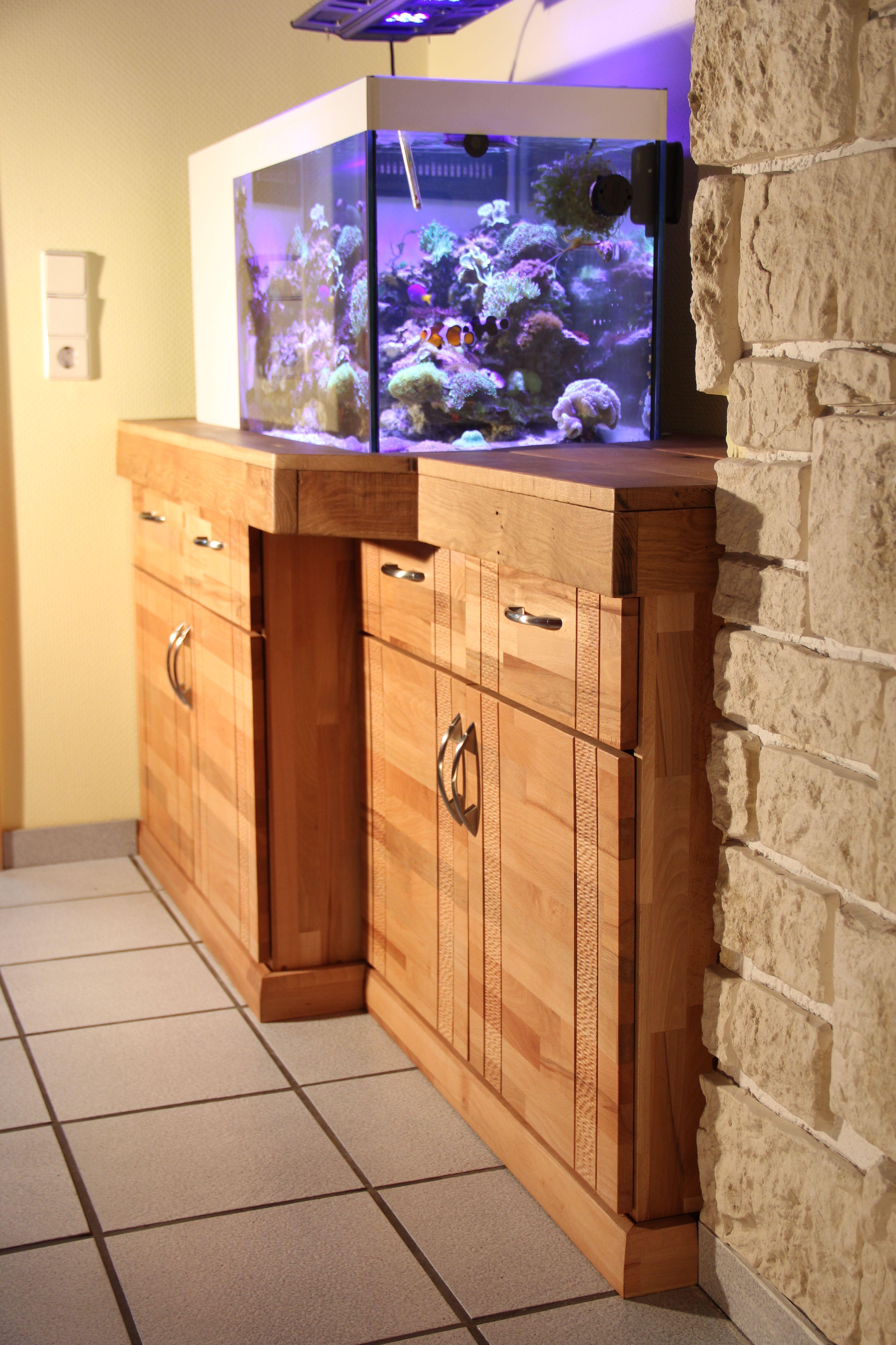 Aquarium Sideboard by Sven Jastrow CNC carved Details