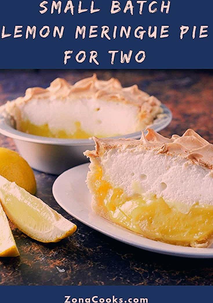 Lemon Meringue Pie for Two Small Batch Recipe