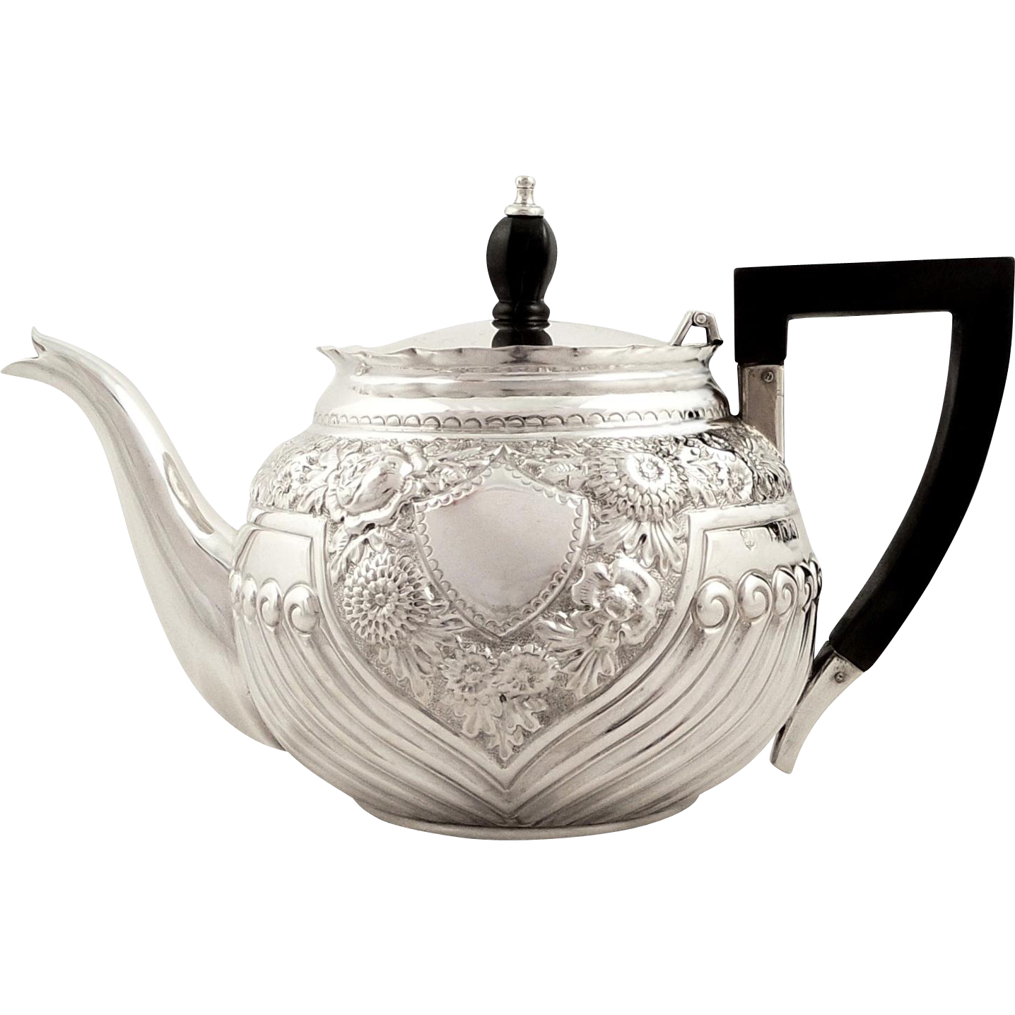 This Is A Super Antique Victorian Hallmarked Sterling Silver Bachelor Teapot Found At Www Rubylane Com Rubylanecom Vint Silver Tea Set Antique Tea Tea Pots